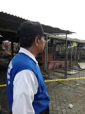 Pedagang Korban Kebakaran Benpas Bakal Direlokasi di Kedungsari