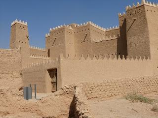 El palacio de Saad bin Saud en Diriyah
