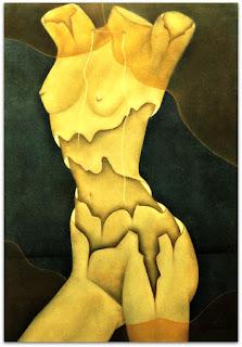 Loide Schwambach - Série Corpos - Pele Descascada