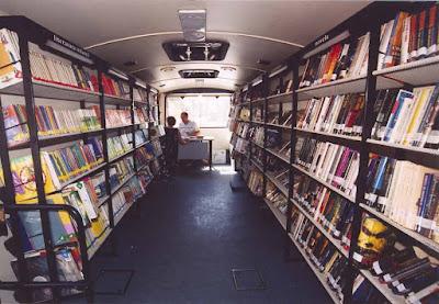 Juzbado, Salamanca, biblioteca municipal, bibliobús