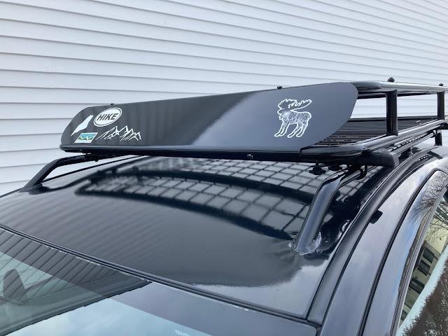 Custom Toyota Yaris roof rack