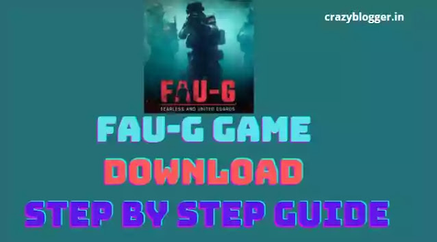 Fau-G(Fauji) Game Download Apk Android in Hindi: Android (apk,playstore),iOS, Registration