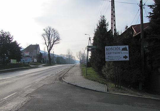 Szosa Bielsko-Biała i Żywiec.