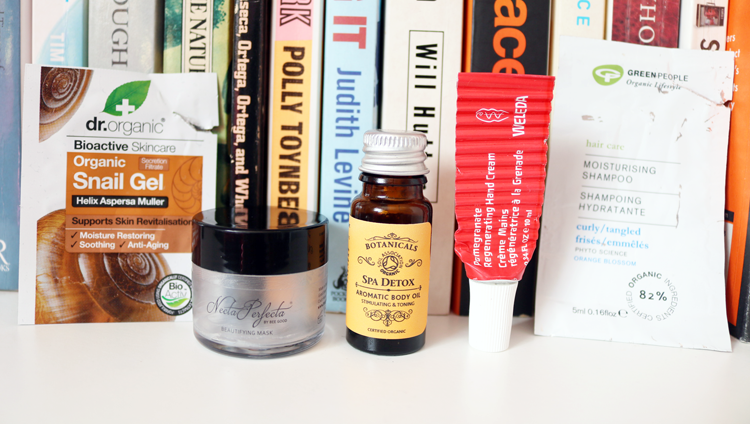 5 Mini Reviews: Dr. Organic, Bee Good, Botanicals, Weleda & Green People