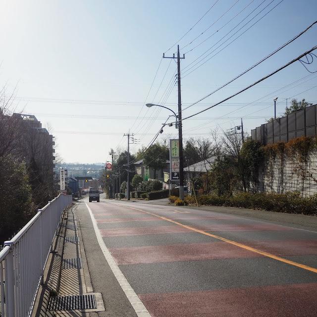 鶴川街道下り