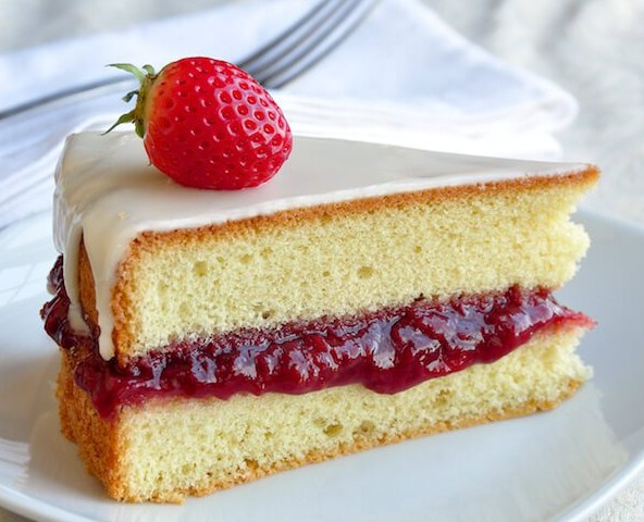 Best Vanilla Sponge Cake For Strawberry Shortcake
