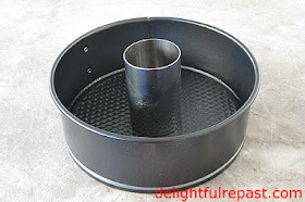 Autumn Apple Cake (this photo - my homemade tube pan) / www.delightfulrepast.com