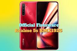 Firmware Realme 5s (RMX1925)