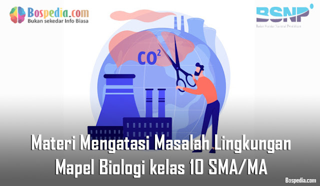 Materi Mengatasi Masalah Lingkungan Mapel Biologi kelas 10 SMA/MA