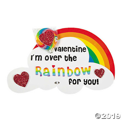 Foam Rainbow Valentine Card Craft Kit