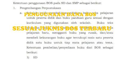Penggunaan Dana Bos SD dan SMP Sesuai Juknis Bos 2017 Pemendikbud No 26 Tahun 2017