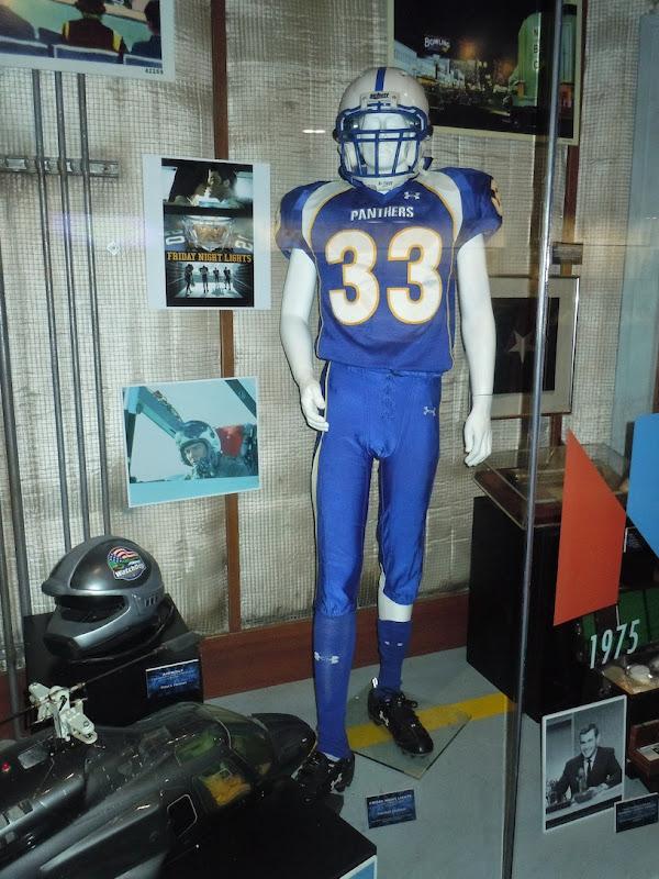 Taylor Kitsch Friday Night Lights Panthers 33 uniform