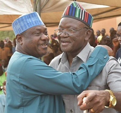 Image result for I'm still in APC, says Ortom after 'secret talks' with PDP leaders