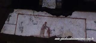 catacumbas sao calisto guia portugues cena batismo - Catacumbas de São Calixto na Via Appia