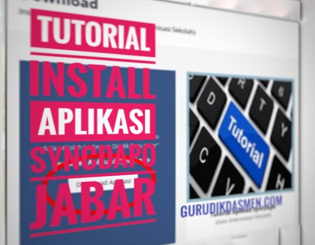 Install Aplikasi SyncDapo Jabar