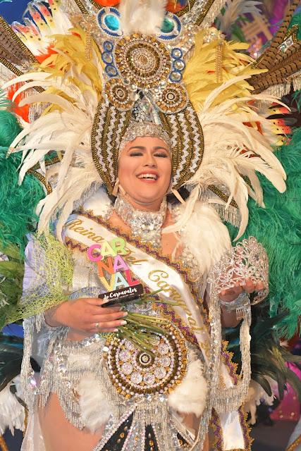 Reina%2BCorralejo. reina%2B%25281%2529 - Fuerteventura.- Desiree Carballo  Reina del Carnaval de La Oliva 2020  en una gala multitudinaria e integradora
