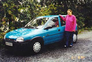 Gro Jeanettes første bil!