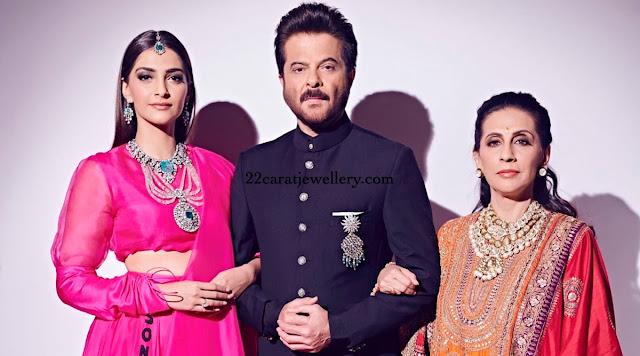 Sonam and Sunitha Kapoor jewellery