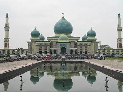 Masjid Agung An-Nur, Wisata Religi paling Megah di Riau