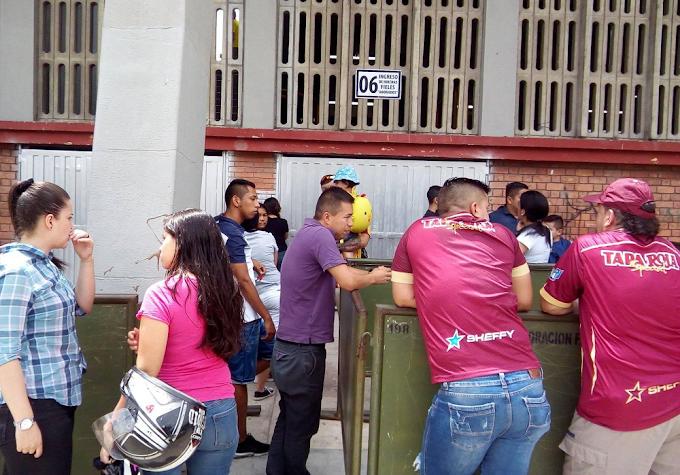 Quejas por la logística dispuesta por DEPORTES TOLIMA en su estreno como local en la Liga Femenina