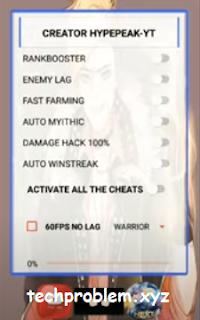 APK Hypepeak VIP Booster (Damage + 1 HIT) Mobile Legends