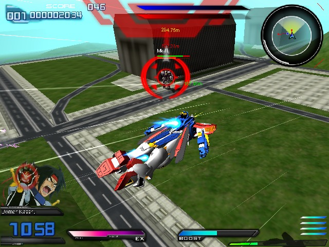 UKWXP Gundam Extreme vs Full Boost PC Free Download Gameplay 1