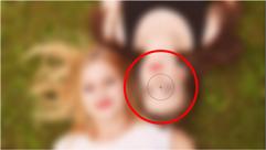 cara membuat efek lensa fokus lembut