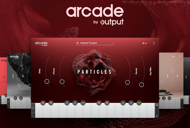 Interface do Plugin Arcade by Output + Library Content