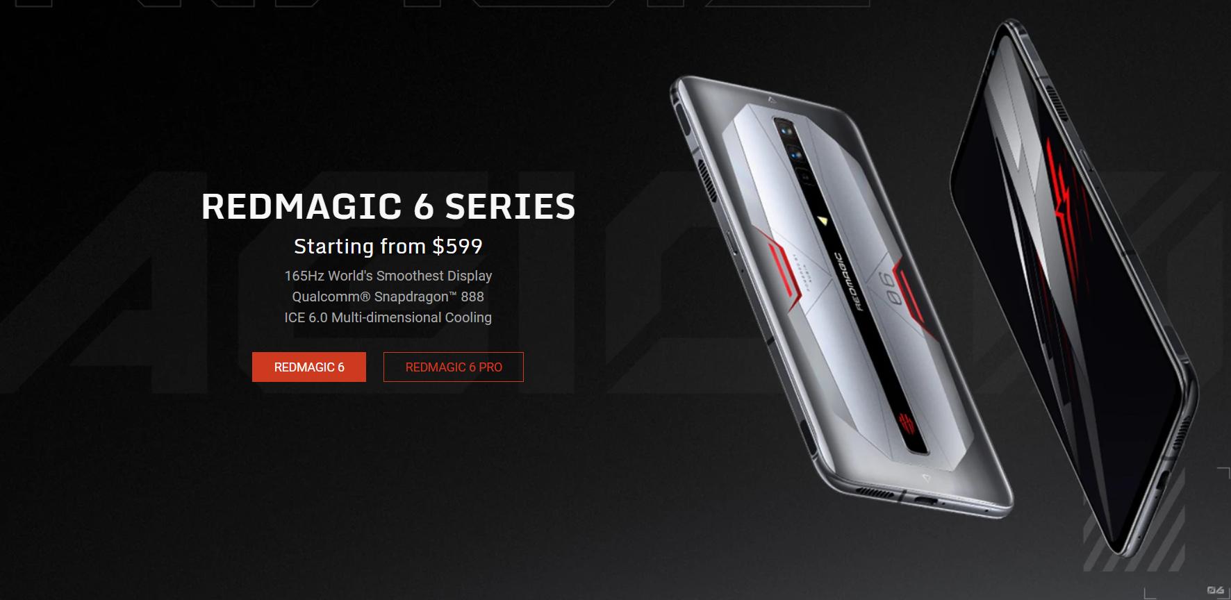 هاتف RedMagic 6 متاح الآن للشراء ... إليك كيف تحصل عليه