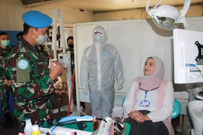 205 Prajurit TNI Satgas MONUSCO Dianugerahi Penghargaan Satya Lencana Canti Darma