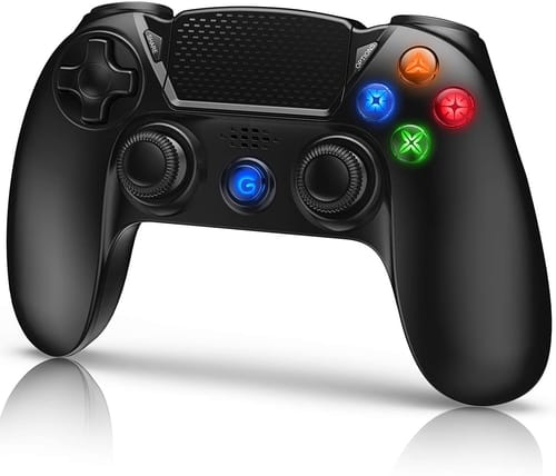 Review Gamory Wireless Controller for PS4 with Shining Buttons