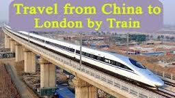chinese train to london