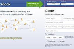 Cara Mengisi Data Diri Profil Facebook