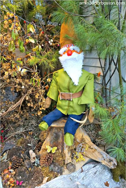 Gnomos en el Return of the Pumpkin People de Jackson en New Hampshire