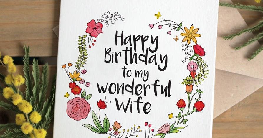 Kad Ucapan Hari Lahir Isteri
