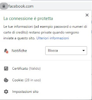 Notifiche Chrome