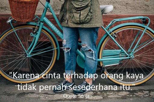 Kata-kata Orang Miskin Tentang Cinta