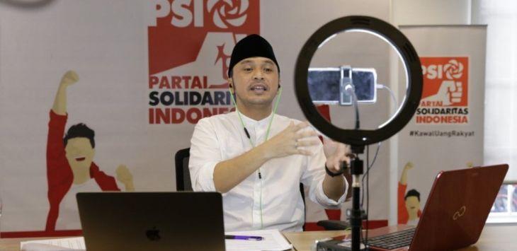 Giring Mau Presiden, Dicky Chandra Syok