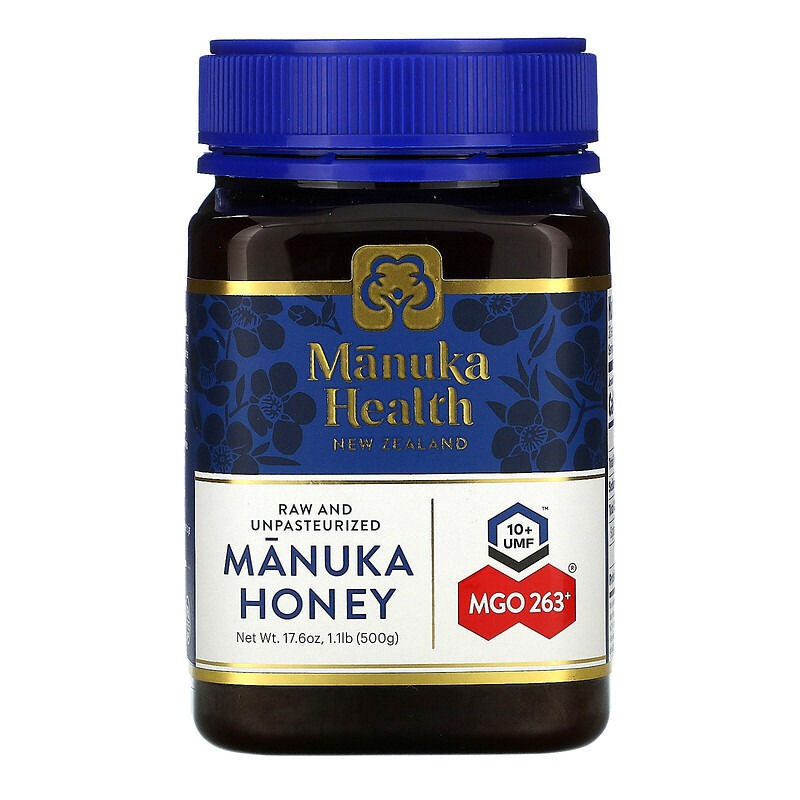 Manuka Health, Manuka Honey, MGO 263+, 1.1 lb (500 g)
