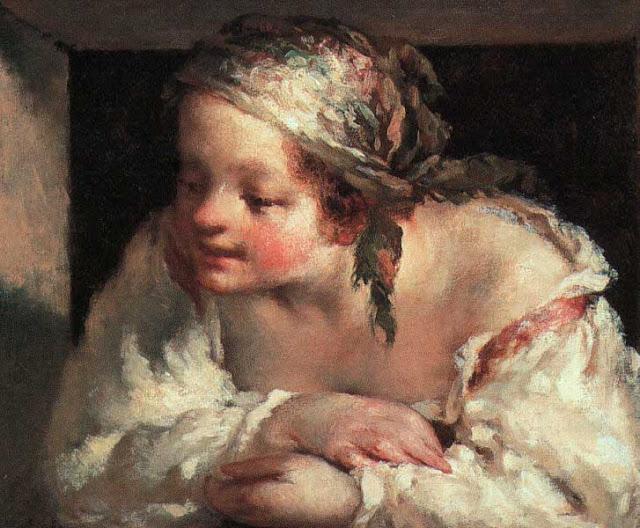 Жан Франсуа Милле - Молодая женщина. 1845