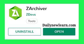 How to compress and extract GTA SA apk and other files by using ZArchiver
