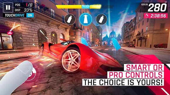 Free Download Asphalt 9: Legends v0.4.6с MOD Apk + OBB Data Terbaru 2018