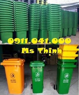 Bán sỉ lẻ thùng rác công cộng 120lit
