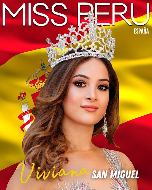 Viviana San Miguel  es Miss Perú España 2021