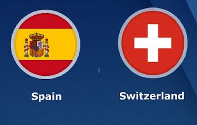 بث مباشر مباراة اسبانيا وسويسرا