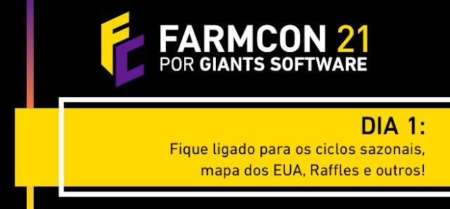 Farmcon: Sintonize hoje e ganhe o Farming Simulator 22!