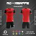 Áo Không Logo Rozaco RO-MBAPPE Màu Đỏ