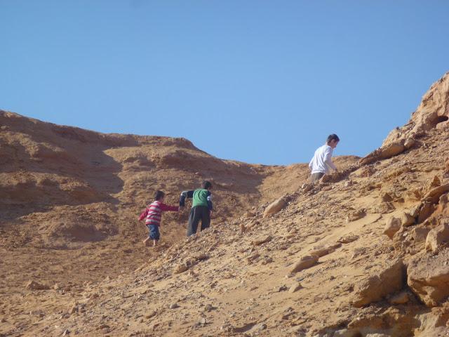 טיפוס גבעה בערבה