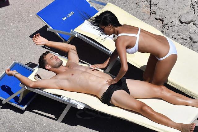 Nicole Scherzinger Is Tantalizing In Bikini As She Cozies Up To Boytoy