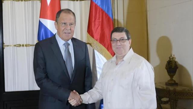 Cuba y Rusia exigen a EEUU eliminar sus sanciones por COVID-19